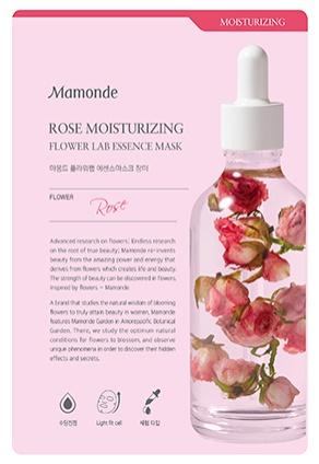 Mamonde Rose Moisturizing Flower Lab Essence Mask