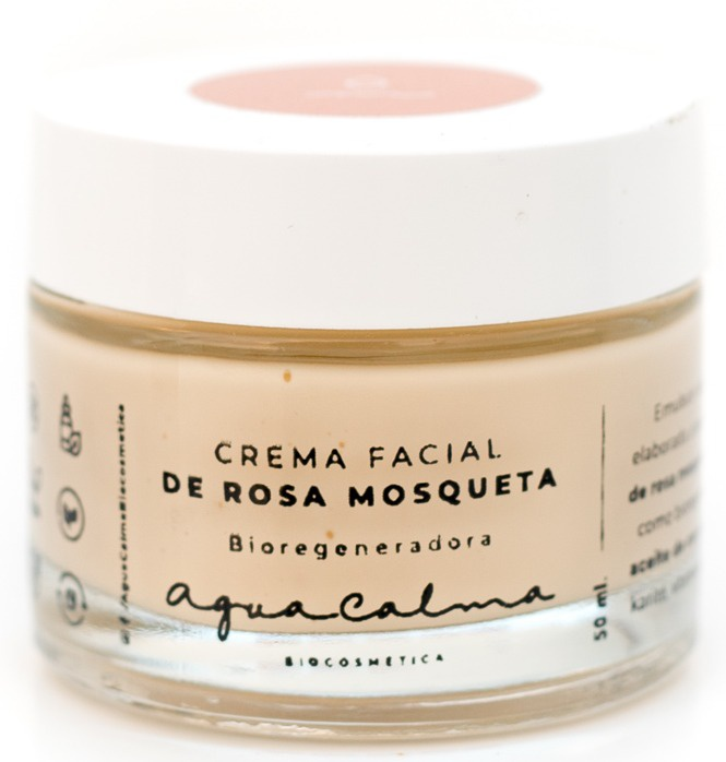 AguaCalma Crema Facial De Rosa Mosqueta