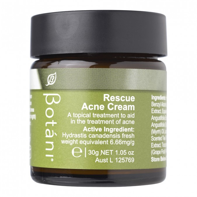 Botani Rescue Acne Cream