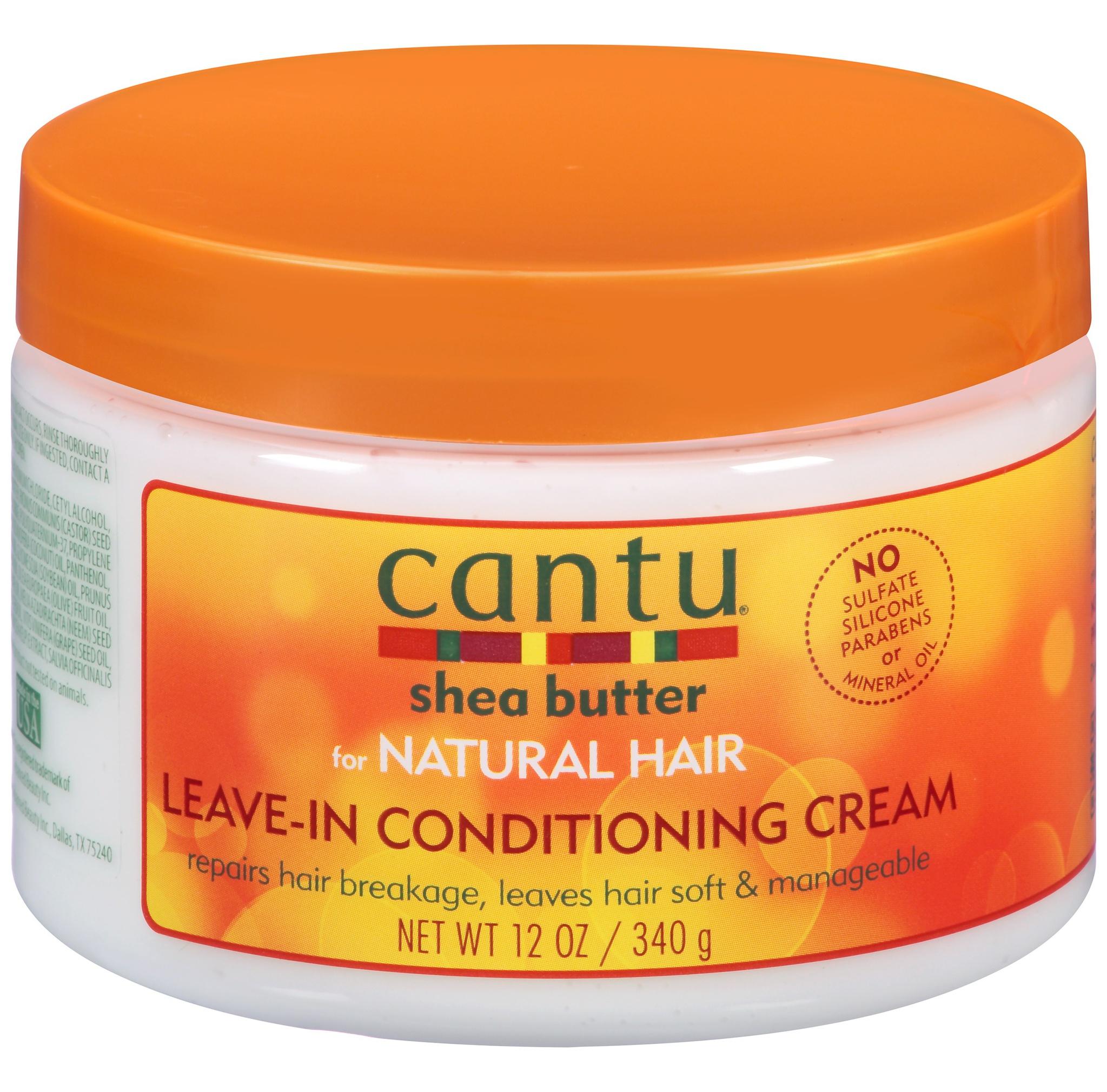 Cantu Natural Leave In Conditioning Cream