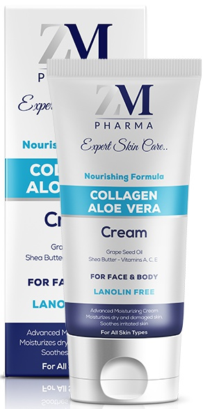 ZM Pharma Collagen Aloe Vera Cream