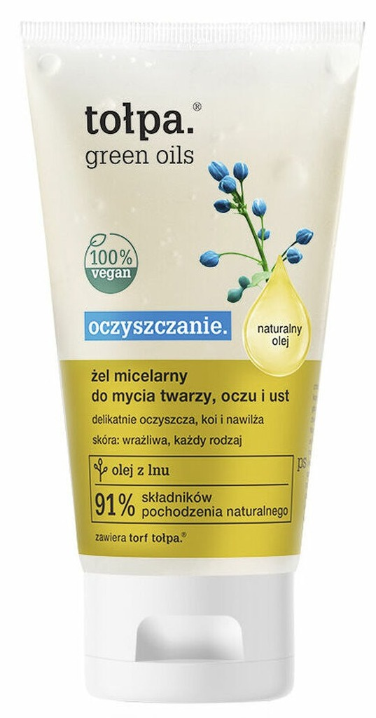 TOŁPA Green Oils Cleansing Micellar Gel