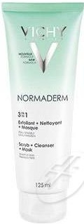 Vichy Normaderm 3 In 1 Exfoliant + Cleanser + Mask