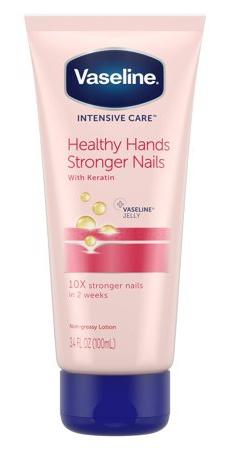 Vaseline Intensive Care Health Hands Stronger Nails