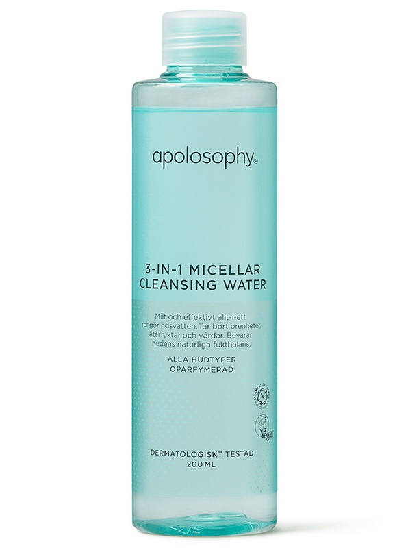 Apolosophy Face 3-In-1 Micellar Cleansing Water