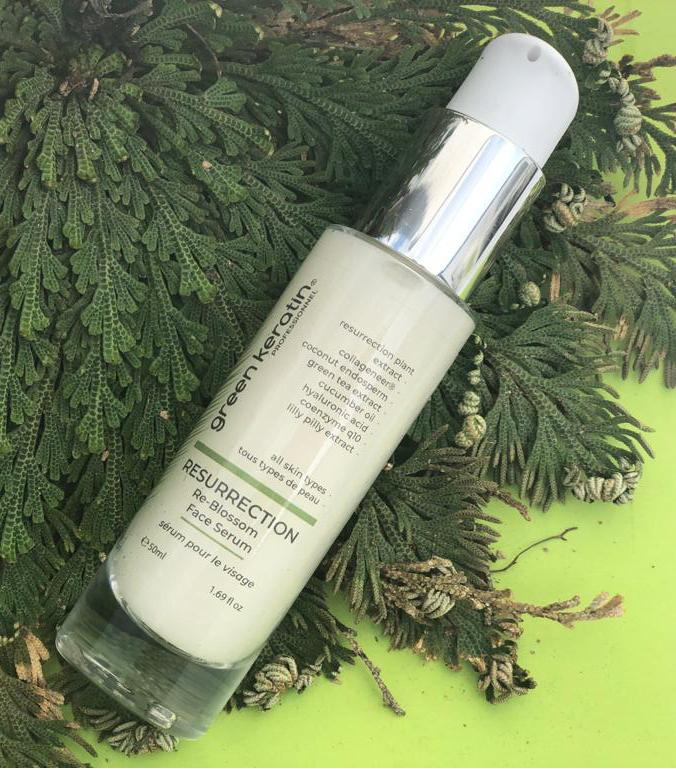 Green Keratin Resurrection Re-Blossom Face Serum