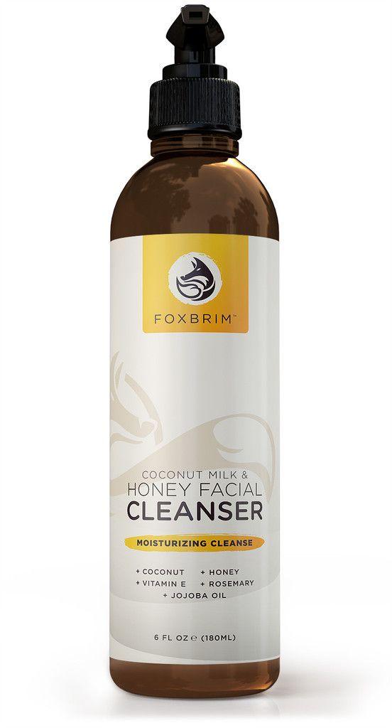 Foxbrim Coconut Milk & Honey Cleanser