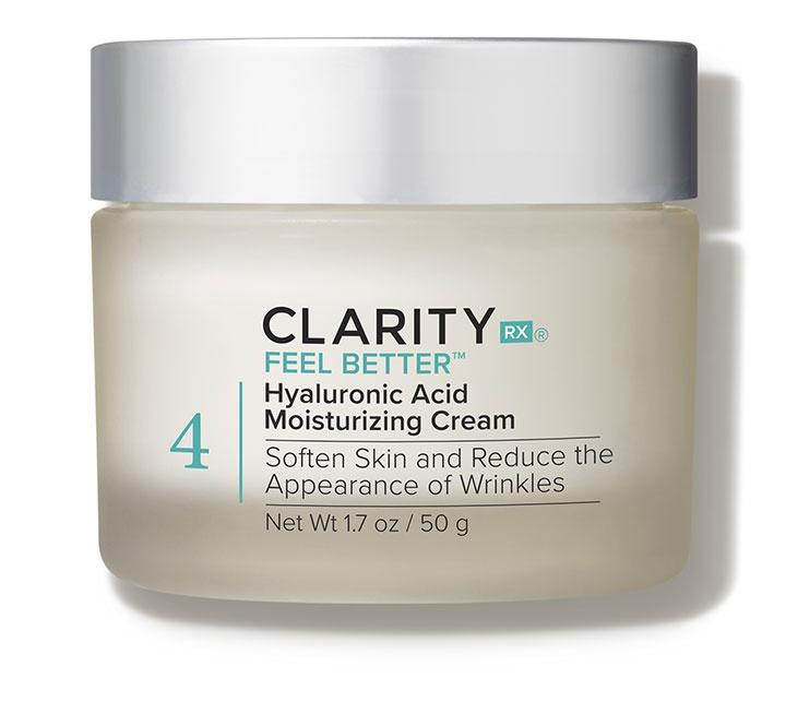 ClarityRX Feel Better Hyaluronic Acid Moisturizing Cream