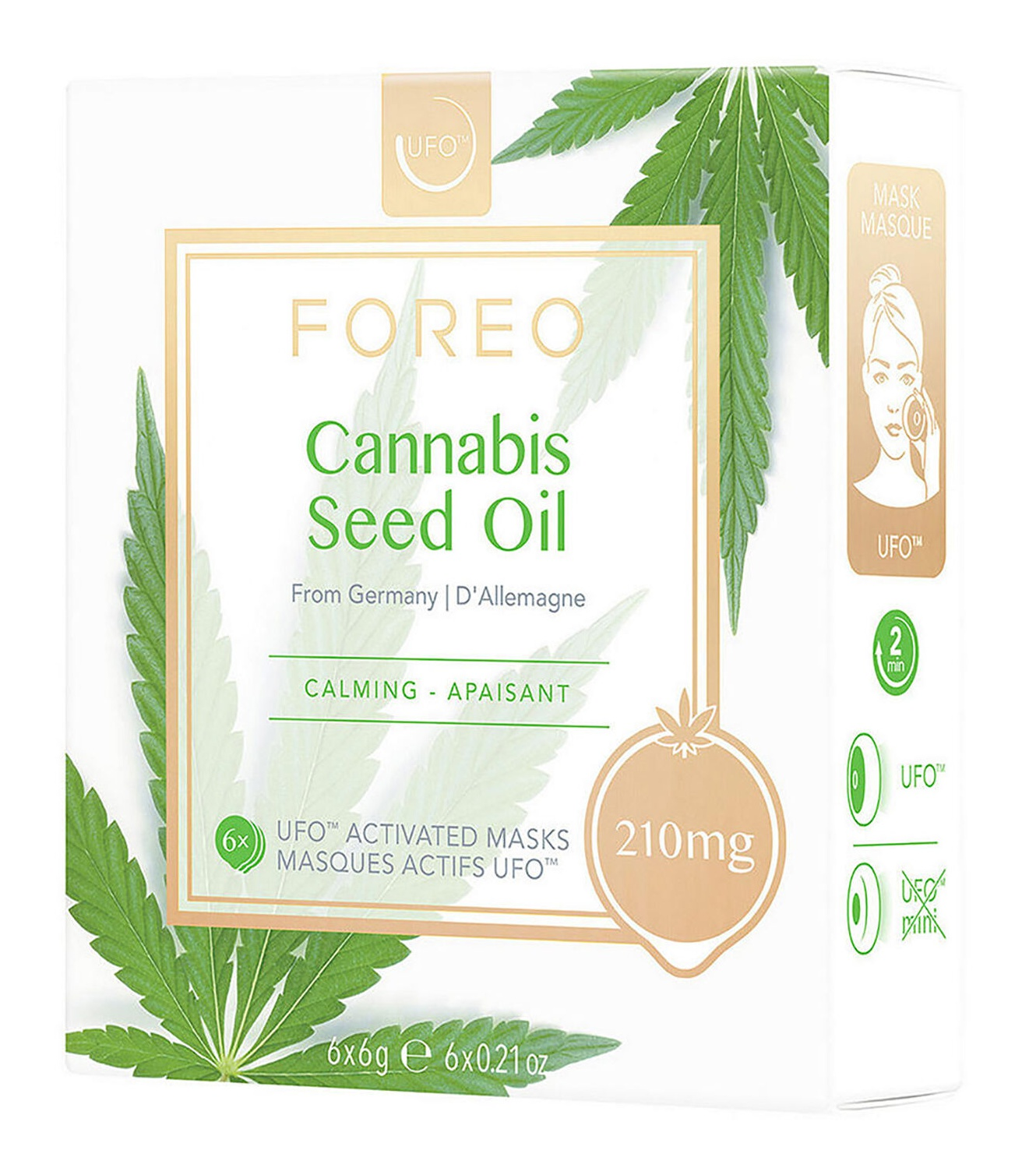 FOREO Ufo Mask Cannabis Seed Oil