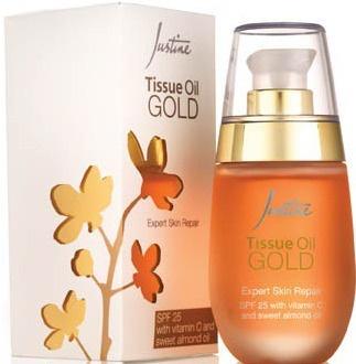 Avon Justine Tissue Oil Gold