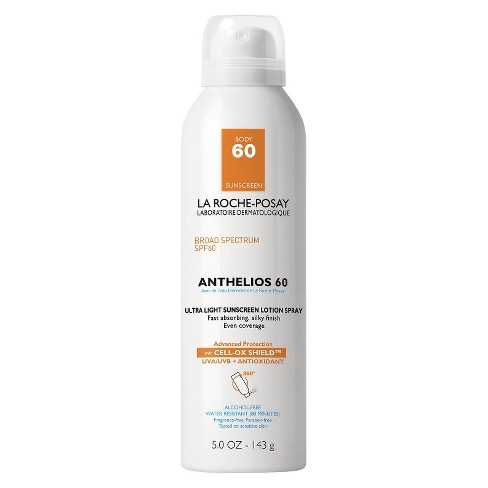 La Roche-Posay Anthelios Ultralight Sunscreen Spray Lotion Spf 60