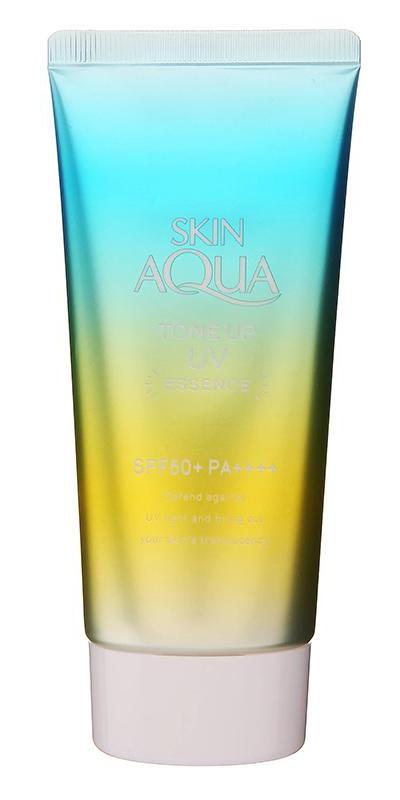 Sunplay Skin Aqua Tone Up UV Essence SPF 50+ Pa++++ Mint Green