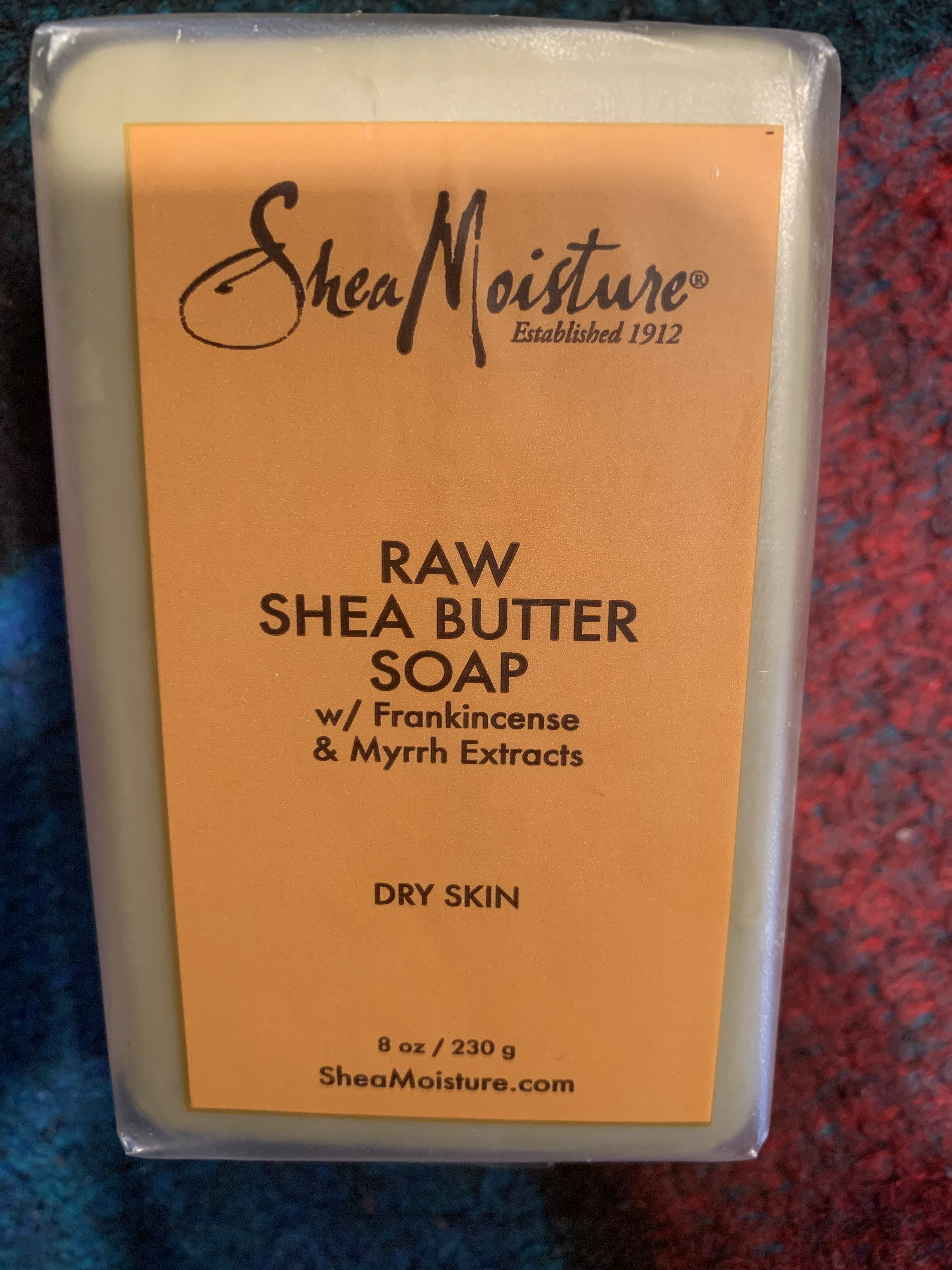 SheaMoisture Raw Shea Butter Soap