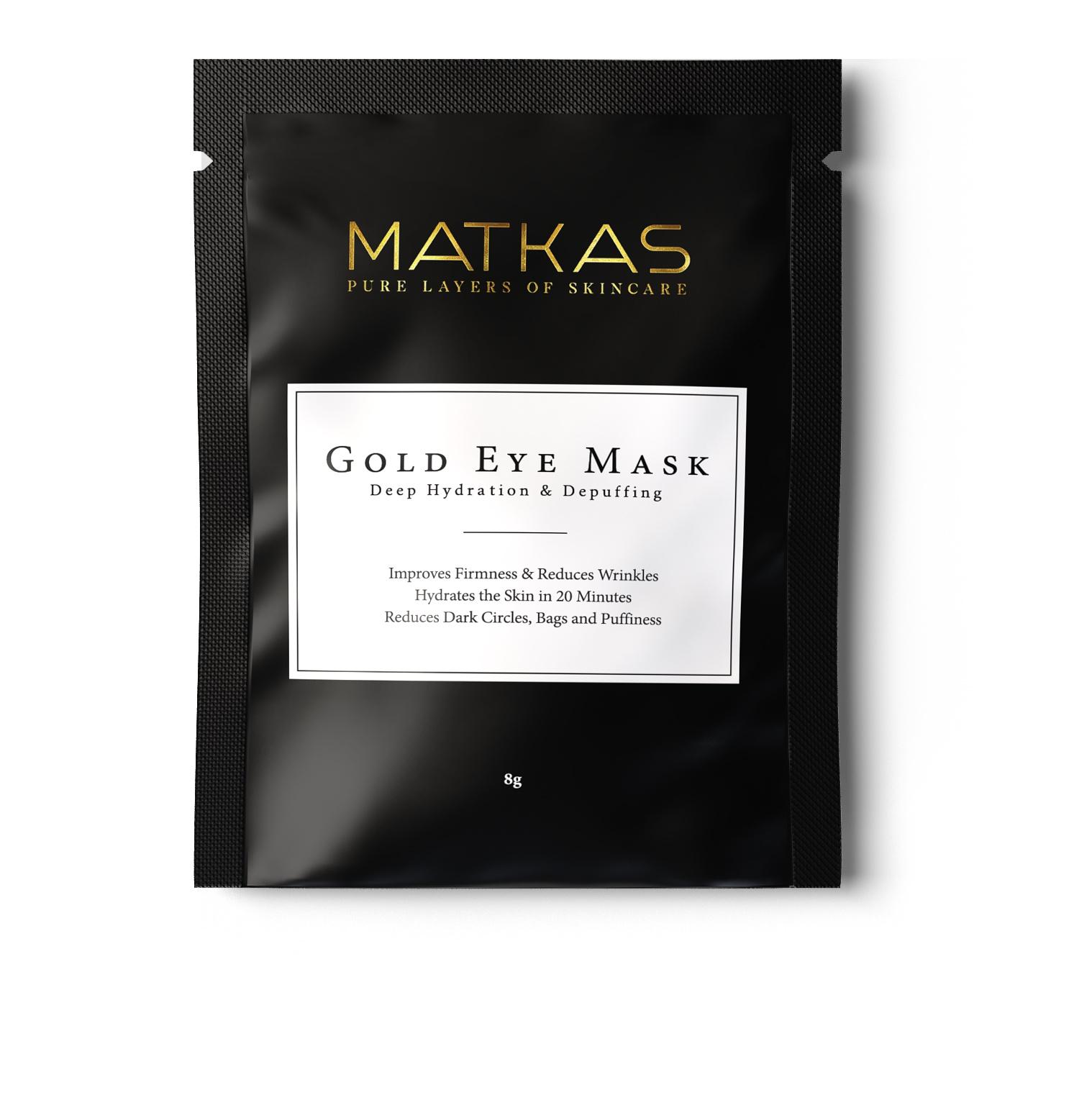 MATKAS Gold Under Eye Patches