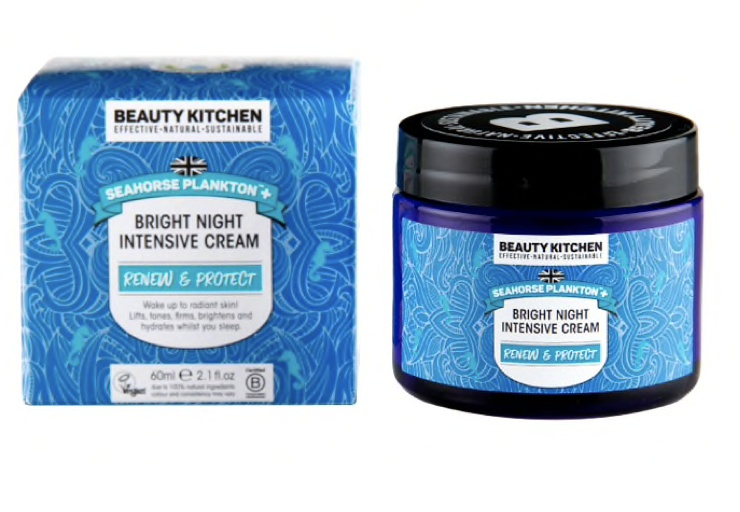 Beauty Kitchen Seahorse Plankton Bright Night Intensive Cream