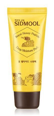 Sidmool Royal Honey Peptide Deep Moisture Sleeping Pack