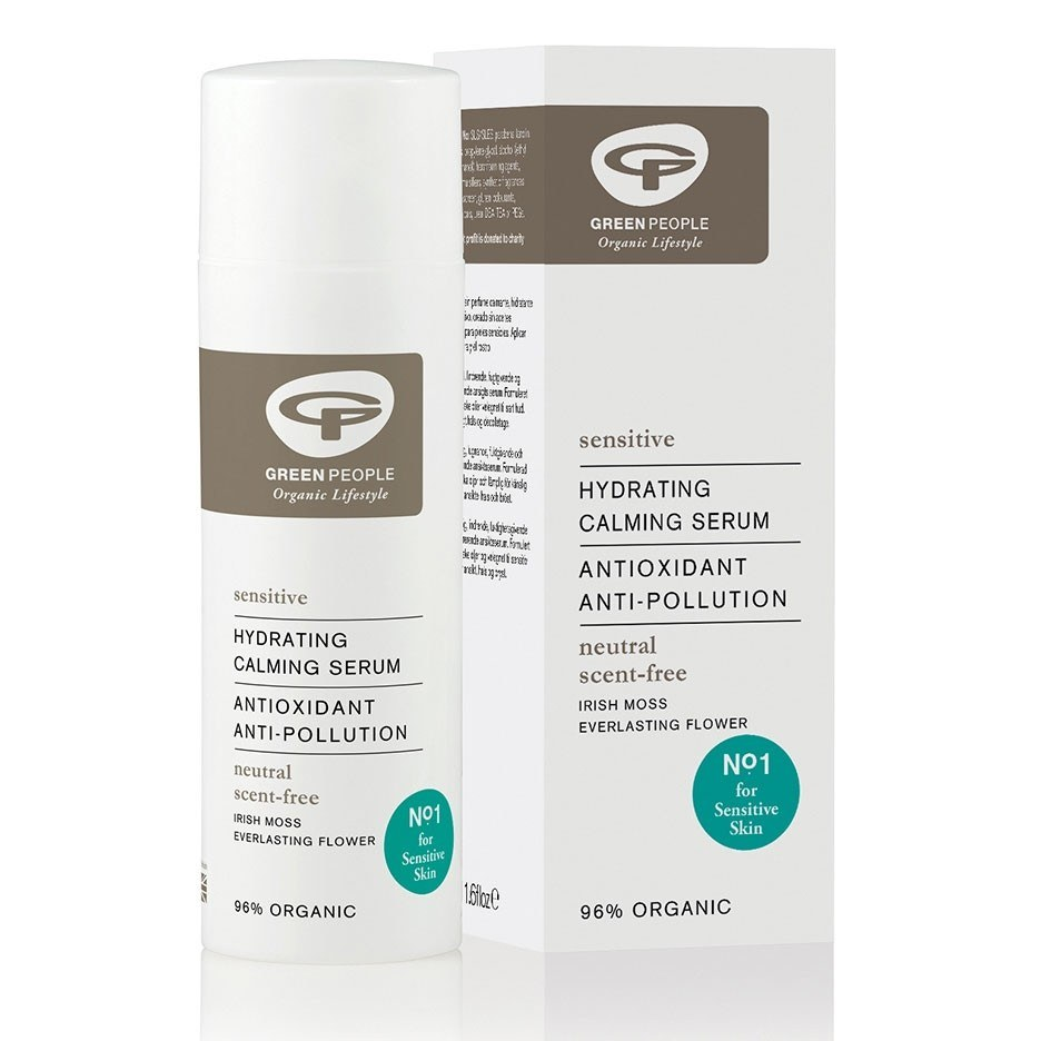 Green People Sensitive Scent Free Hydrating Calming Serum