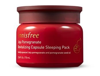 innisfree Jeju Pomegranate Revitalizing Capsule Sleeping Pack