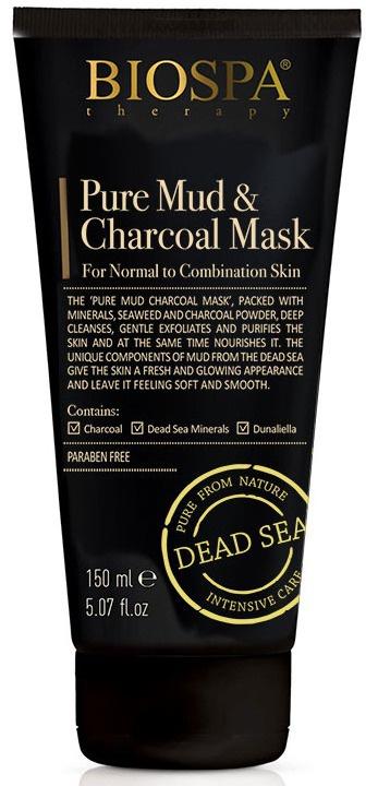BIOSPA Pure Mud & Charcoal Mask