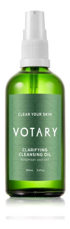 Votary Clarifying Cleansing Oil - Rosemary And Oat