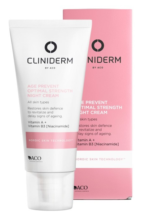 Cliniderm Age Prevent Night Cream