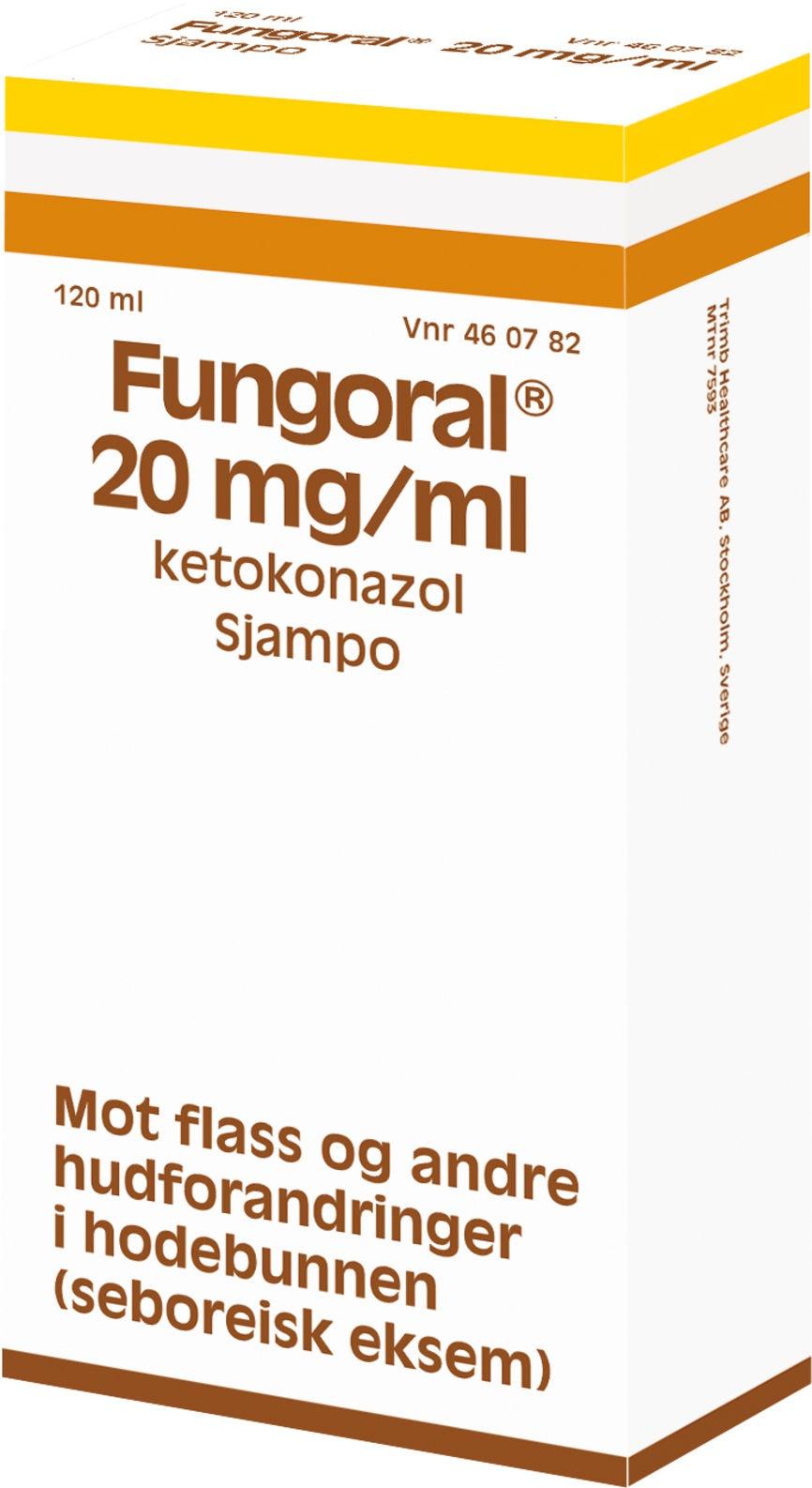 Trimb Healthcare AB Fungoral 20 Mg/Ml Ketoconazole Shampoo