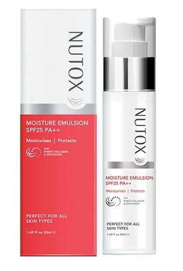 Nutox Moisture Emulsion Spf 25 Pa++