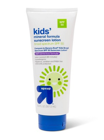 up&up Kids Sunscreen Lotion - Spf 50