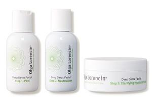 Olga Lorencin Skin Care Deep Detox Facial In A Box
