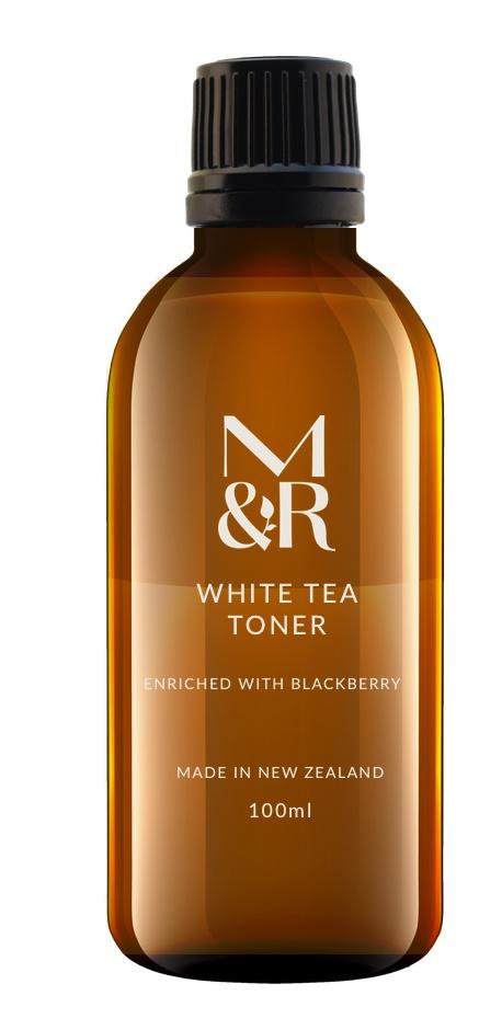 M&R Essentials Organic White Tea Toner