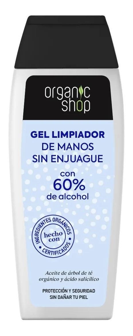 Organic Shop Gel Limpiador De Manos Sin Enjuague
