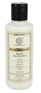 Khadi Natural Almond And Saffron Herbal Moisturizer