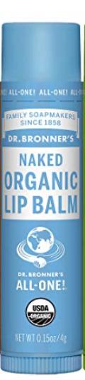 Dr Bronner Organic Lip Balm - Naked