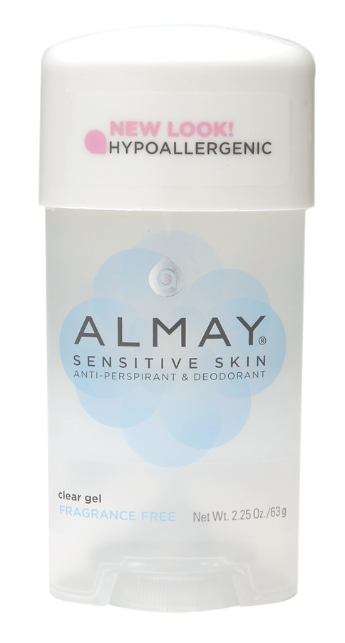 Almay Sensitive Skin Clear Gel, Anti-Perspirant & Deodorant, Fragrance Free