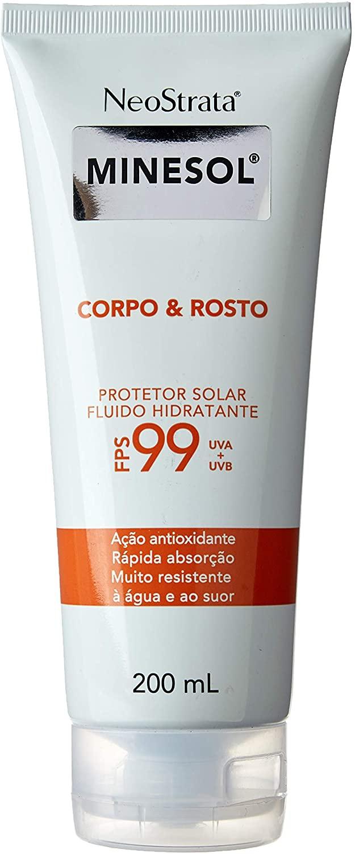 Neostrata Minesol Corpo & Rosto Fluído Hidratante Antioxidante Fps99