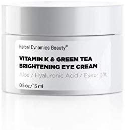 Herbal Dynamics Beauty Vitamin K & Green Tea Brightening Eye Cream