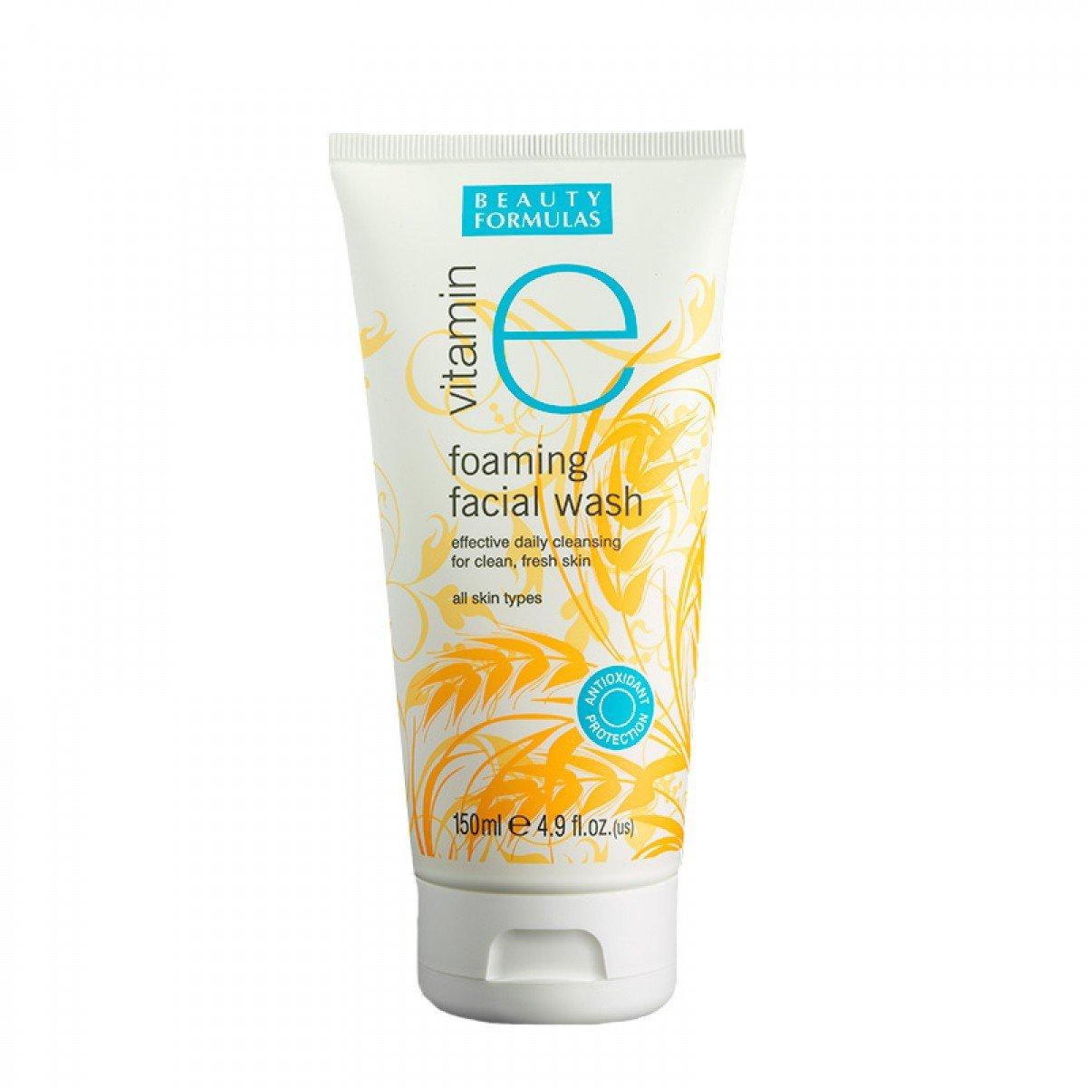 Beauty Formulas Foaming Facial Wash Beauty Formulas Vitamin E