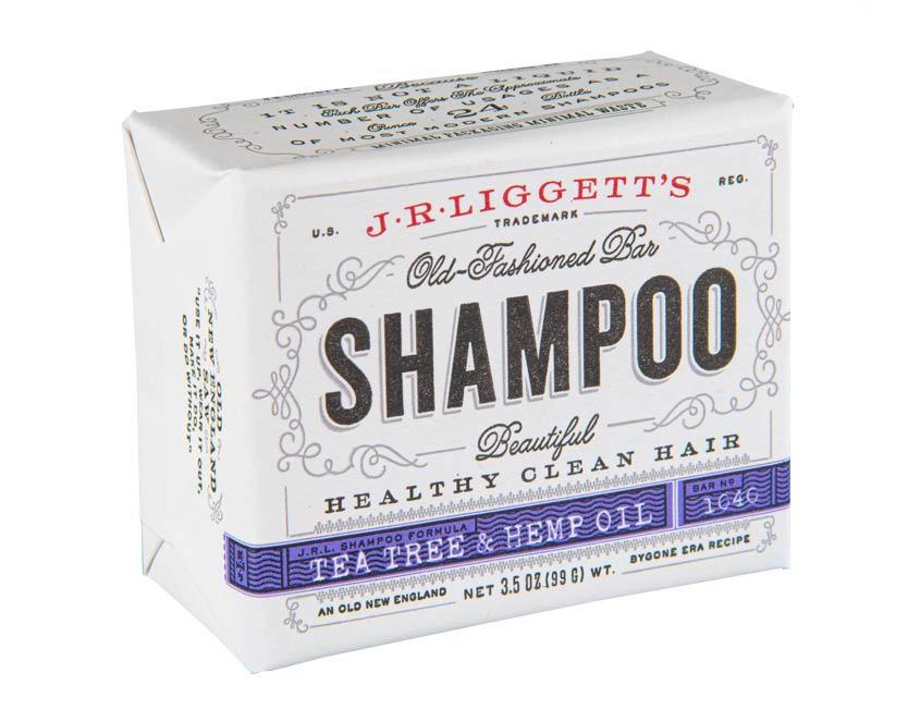 J.R.Liggett's Tea Tree & Hemp Oil Formula Shampoo Bar