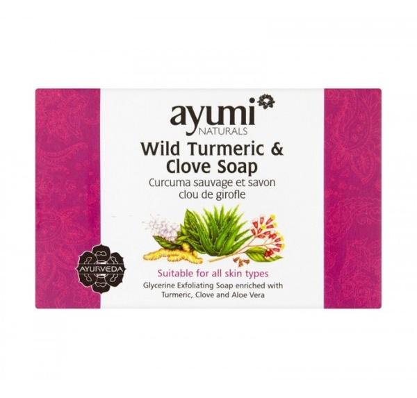 Ayumi Turmeric And Clove Soap