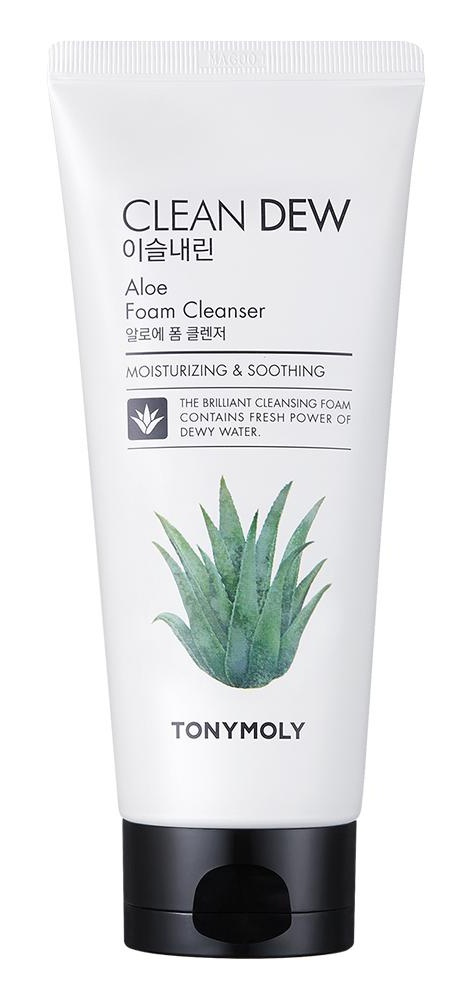 TonyMoly Clean Dew Foam Cleanser (Aloe)