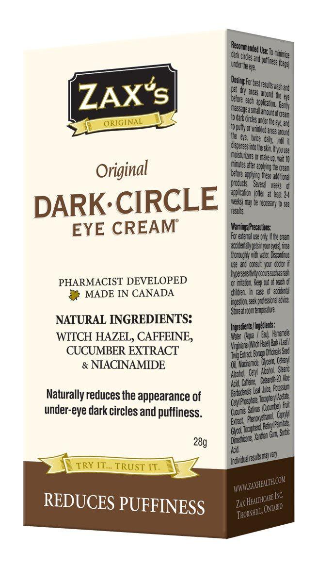 Zax's Original Dark Circle Eye Cream