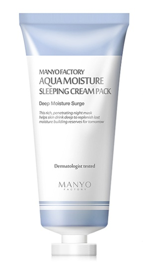 Manyo Factory Aqua Moisture Sleeping Cream Pack