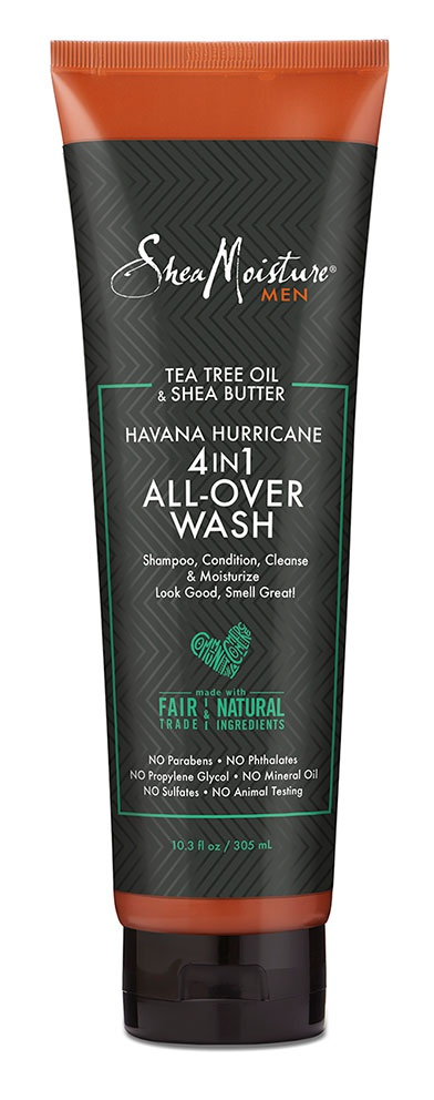 SheaMoisture Tea Tree Oil & Shea Butter Havana Hurricane 4In1 All-Over Wash
