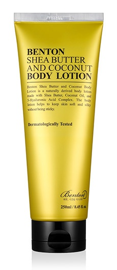 Benton Shea Butter & Coconut Body Lotion