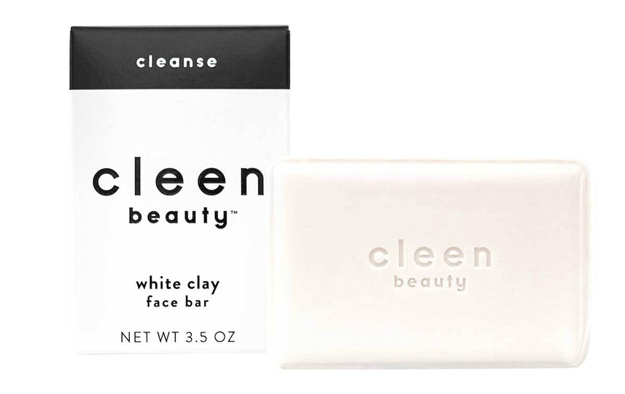 cleen beauty White Clay Face  Bar