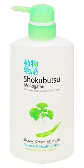 Shokubutsu Monogatari Shower Cream Ginko