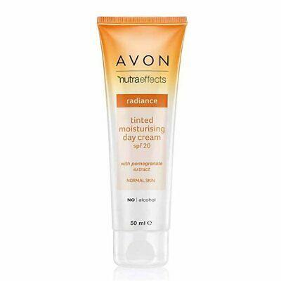 Avon Nutra Effects Radiance Tinted Moisturising Day Cream Spf 20
