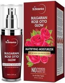 St. Botanica Bulgarian Rose Otto Glow Mattifying Moisturizer SPF30