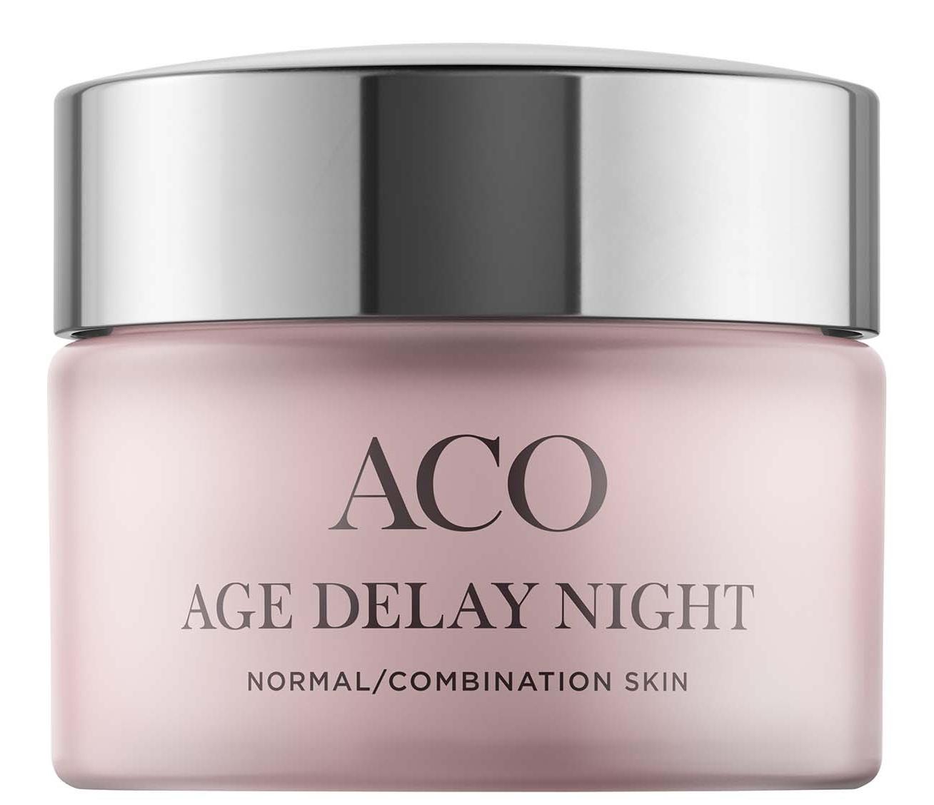 ACO Face Age Delay Night Cream Normal Skin