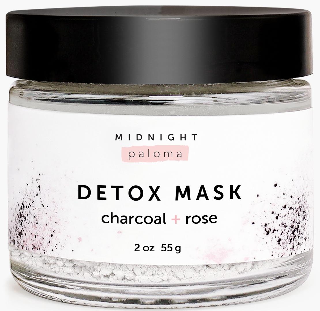 Midnight Paloma Charcoal + Rose Detox Mask